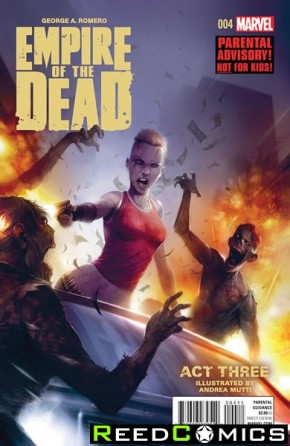 George Romeros Empire of the Dead Act Three #4