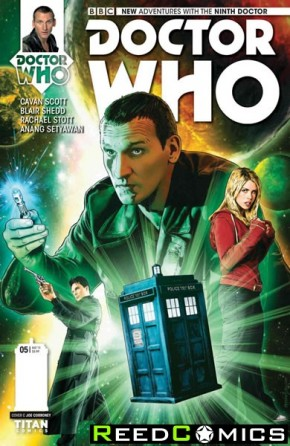 Doctor Who 9th #5 (1 in 10 Incentive Variant Cover)