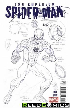 Superior Spiderman #1 (1 in 50 Design McGuiness Variant)