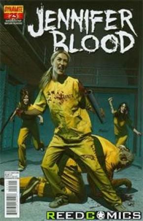 Garth Ennis Jennifer Blood #23