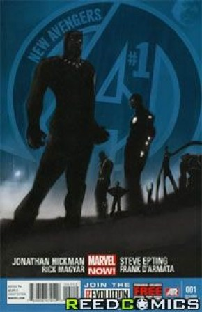 New Avengers Volume 3 #1 (2nd Print)