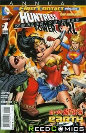Worlds Finest Volume 3 Annual #1