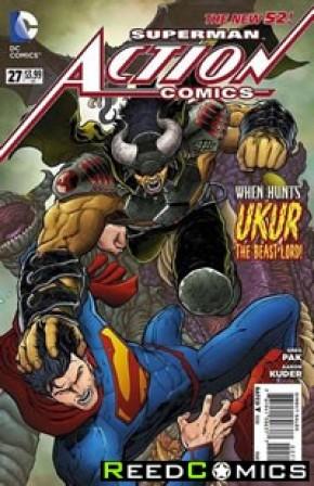 Action Comics Volume 2 #27