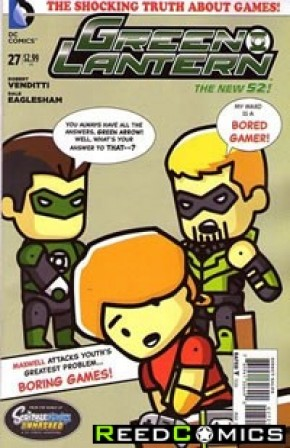 Green Lantern Volume 5 #27 (1 in 25 Incentive)