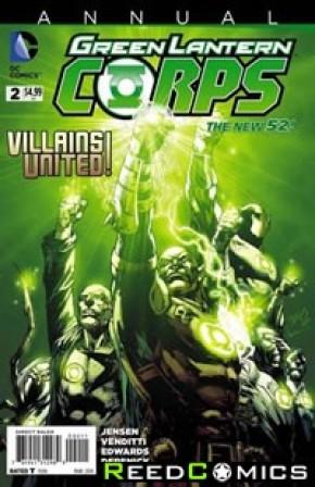 Green Lantern Corps Volume 3 Annual #2