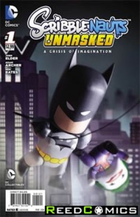 Scribblenauts Unmasked Crisis of Imagination #1 (1 in 10 Incentive Variant Cover)