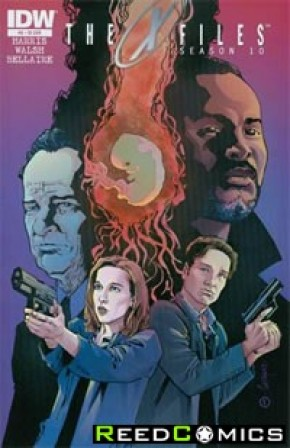 X-Files Season 10 #8 (1 in 10 Incentive Variant Cover)