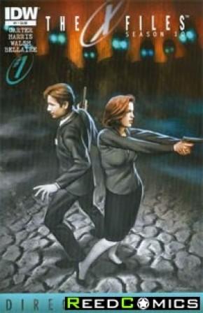 X-Files Season 10 #1 Directors Cut