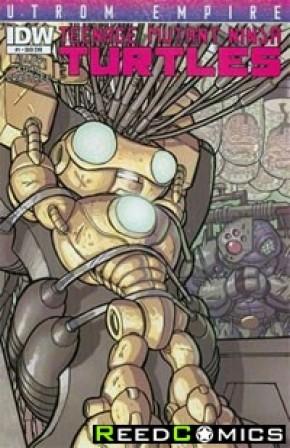 Teenage Mutant Ninja Turtles Utrom Empire #1 (Subscription Variant Cover)