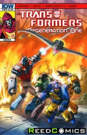Transformers Regeneration One #98 (Cover A)