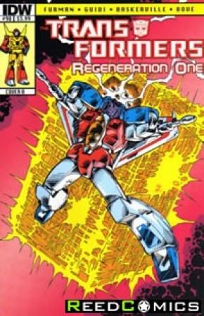 Transformers Regeneration One #98 (Cover B)