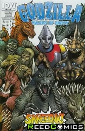 Godzilla Rulers of the Earth #8