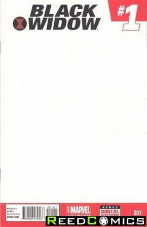 Black Widow Volume 5 #1 (Blank Variant)