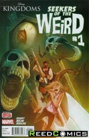 Disney Kingdoms Seekers of Weird #1