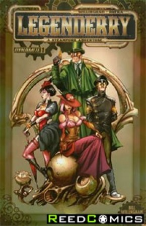 Legenderry A Steampunk Adventure #1