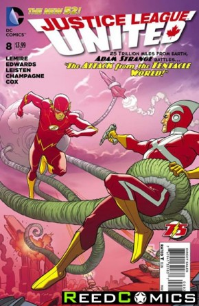 Justice League United #8 (Flash 75 Variant Edition)