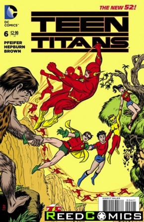 Teen Titans Volume 5 #6 (Flash 75 Variant Cover)