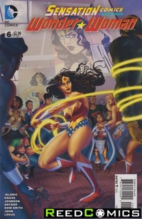 Sensation Comics Featuring Wonder Woman #6
