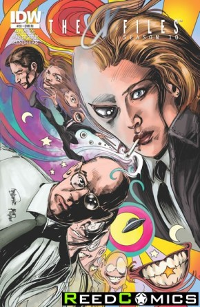 X-Files Season 10 #20 (1 in 10 Incentive Variant Cover)