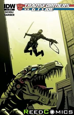 Transformers vs GI Joe #6 (1 in 10 Incentive Cover Variant)