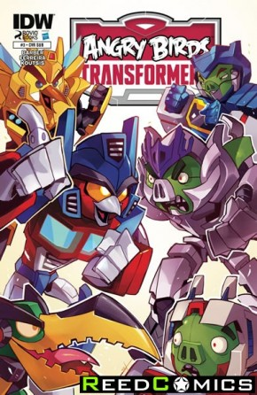 Angry Birds Transformers #3 (Subscription Variant Cover)