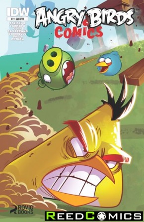 Angry Birds #7 (Subscription Variant Cover)