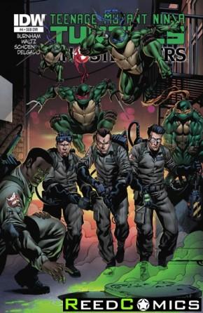 Teenage Mutant Ninja Turtles Ghostbusters #4 (Subscription Variant Cover)