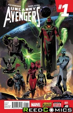 Uncanny Avengers Volume 2 #1