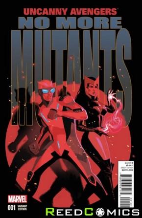 Uncanny Avengers Volume 2 #1 (1 in 20 Acuna Incentive Variant)