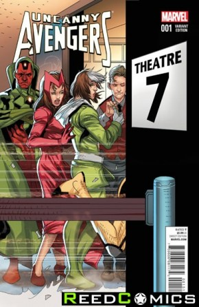 Uncanny Avengers Volume 2 #1 (1 in 20 Larocca Incentive Variant)