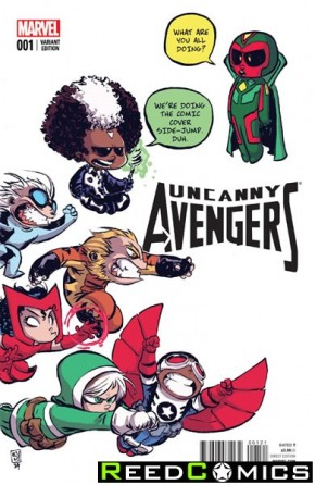 Uncanny Avengers Volume 2 #1 (Skottie Young Baby Variant Variant Cover)