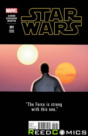 Star Wars Volume 4 #1 (1 in 25 Cassaday Teaser Incentive Variant Cover)