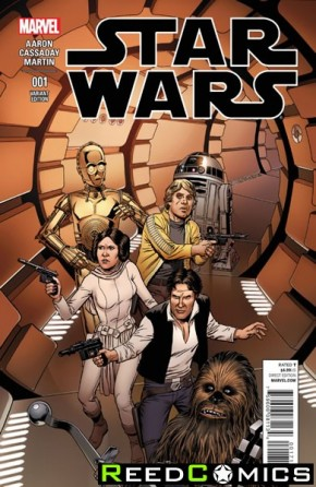 Star Wars Volume 4 #1 (1 in 25 Mcleod Incentive Variant Cover)