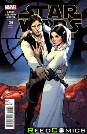 Star Wars Volume 4 #1 (1 in 20 Pichelli Incentive Variant Cover)
