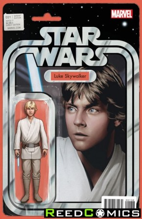 Star Wars Volume 4 #1 (Christopher Action Figure Variant Cover)