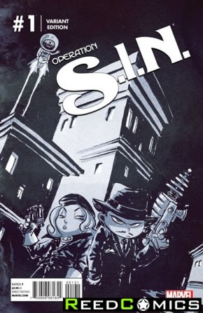 Operation Sin #1 (Skottie Young Baby Variant Cover)
