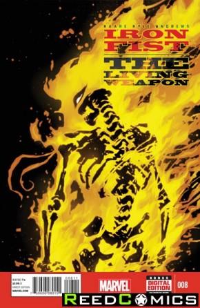 Iron Fist Living Weapon #8
