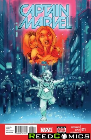 Captain Marvel Volume 7 #11