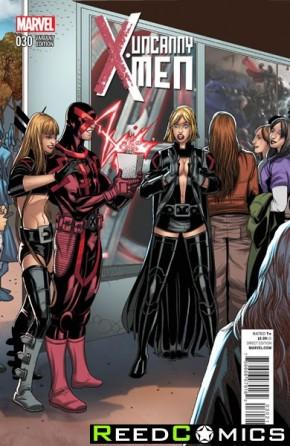 Uncanny X-Men Volume 3 #30 (1 in 20 Incentive Variant Cover)