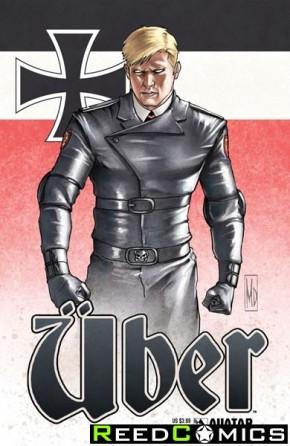 Uber #21 (Propaganda Poster Cover)