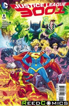 Justice League 3001 #8