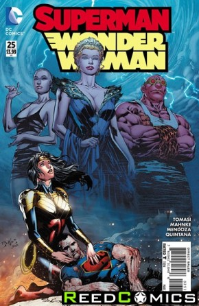 Superman Wonder Woman #25