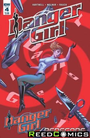 Danger Girl Renegade #4