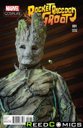 Rocket Raccoon and Groot #1 (1 in 15 Cosplay Incentive Variant cover)