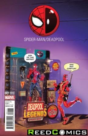 Spiderman Deadpool #1 (Photo Action Figure Variant)