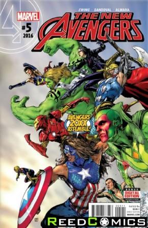 New Avengers Volume 4 #5