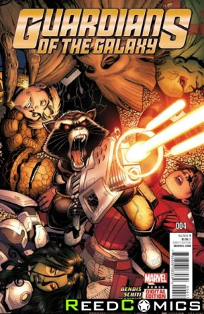 Guardians of the Galaxy Volume 4 #4