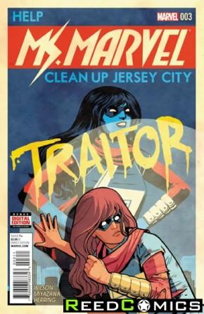 Ms Marvel Volume 4 #3