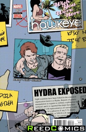 All New Hawkeye Volume 2 #3
