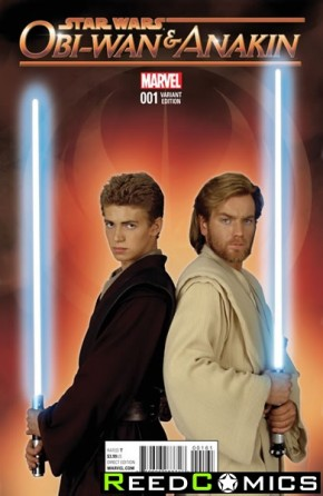 Obi-Wan and Anakin #1 (1 in 20 Movie Incentive Variant Cover)